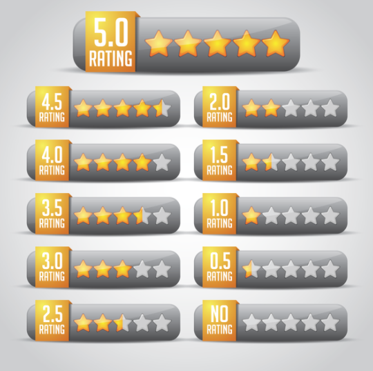 show rating star